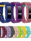 olcso Smartwatch sávok-szilikon óra sávos csuklópánt fitbit inspire hr / ace 2 cserélhető karkötő csuklópánt