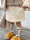 povoljno Suknje za djevojčice-Dijete koje je tek prohodalo Djevojčice Jednobojni Suknja Obala