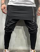 billige Herrebukser og -shorts-Herre Grunnleggende Chinos Bukser - Ensfarget Multi Layer / Klassisk Svart Grønn Mørkegrå US32 / UK32 / EU40 US34 / UK34 / EU42 US36 / UK36 / EU44