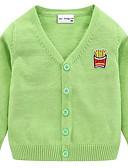povoljno Džemperi i kardigani za bebe-Dijete Djevojčice Osnovni Jednobojni Dugih rukava Džemper i kardigan Blushing Pink