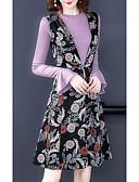 povoljno Ženski dvodijelni kostimi-Žene Set - Cvjetni print Haljine