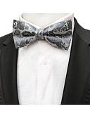 olcso Férfi nyakkendők és csokornyakkendők-Férfi / Fiú Nyomtatott / Jacquardszövet Party / Aktív / Alap - Csokornyakkendő