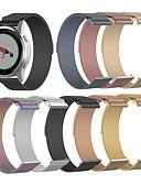 billige Smartwatch Bands-milanese loop stropp for garmin vivoactive 4s rustfritt stål armbånd