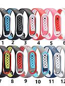 baratos Bandas de Smartwatch-Para xiaomi mi band 4 3 pulseira de substituição de pulseira de relógio de pulseira macia
