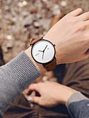 ราคาถูก นาฬิกาสวมใส่เข้าชุด-สำหรับผู้ชาย นาฬิกาแนวสปอร์ต นาฬิกาอิเล็กทรอนิกส์ (Quartz) กีฬา สไตล์ หนัง ดำ / น้ำตาล 30 m ปฏิทิน Creative เรืองแสง ระบบอนาล็อก ไม่เป็นทางการ ที่เรียบง่าย - สีดำ สีน้ำตาล ดำ / น้ำเงิน / สองปี