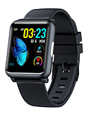 cheap Smart Watches-Smartwatch Digital Modern Style Sporty Silicone 30 m Water Resistant / Waterproof Heart Rate Monitor Bluetooth Digital Casual Outdoor - Black Blue Gray