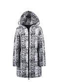 olcso Női hosszú kabátok és parkák-Női Egyszínű Hosszú Anorák, POLY Ezüst S / M / L