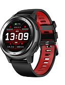 baratos Bandas de Smartwatch-dt no.1 dt68 pulseira de toque de círculo completo 20 dial face change ecg monitor de freqüência cardíaca relógio inteligente
