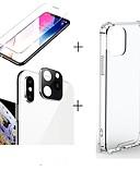 Χαμηλού Κόστους Προστατευτικά οθόνης για iPhone-3 σε 1 / σετ για το iphone 11 / 11pro / 11 pro max οθόνη προστατευτικό διαφανές σιλικόνη φωτογραφική μηχανή σιλικόνης φακού γυαλιού