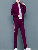 billige Todelt dress til damer-Dame Gatemote Sett Bukse - Flettet / Trykt mønster, Geometrisk