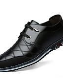 Χαμηλού Κόστους Αντρικά Πουκάμισα-Ανδρικά Παπούτσια άνεσης Δερμάτινο Φθινόπωρο & Χειμώνας Oxfords Μαύρο / Καφέ / Μπλε
