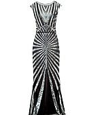Χαμηλού Κόστους Κοστούμια-Γυναικεία Θήκη Φόρεμα - Μονόχρωμο Μίντι