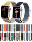 olcso Smartwatch sávok-nylonszövött sport hurok karkötő karóra heveder hevedere az apple iwatch sorozathoz 5 4 3 2 1