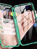halpa iPhone kotelot-Etui Käyttötarkoitus Apple iPhone 11 / iPhone 11 Pro / iPhone 11 Pro Max Magneetti Suojakuori Yhtenäinen Karkaistu lasi / Metalli