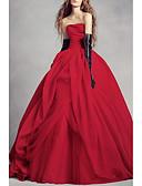 Χαμηλού Κόστους Βραδινά Φορέματα-Γραμμή Α Στράπλες Μακρύ Σατέν Στράπλες Φορέματα γάμου φτιαγμένα στο μέτρο με Πιασίματα 2020