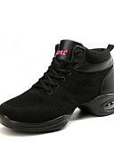 Χαμηλού Κόστους Μπλούζα-Γυναικεία Παπούτσια Χορού Πλεκτό Παπούτσια Χορού Αθλητικά Πυκνό τακούνι Εξατομικευμένο Μαύρο / Λευκό