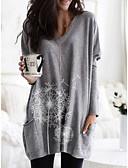 cheap Women's T-shirts-Women's Daily T-shirt - Floral Black