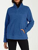 billige Skjorter til damer-Dame Fritid Genser Ensfarget