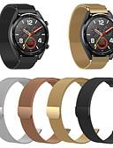 baratos Bandas de Smartwatch-Pulseiras de Relógio para Huawei Watch GT 2 Huawei Pulseira Estilo Milanês Aço Inoxidável Tira de Pulso