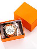 ราคาถูก นาฬิกาข้อมือสแตนเลส-สำหรับผู้ชาย นาฬิกาข้อมือสแตนเลส นาฬิกาอิเล็กทรอนิกส์ (Quartz) สแตนเลส ทอง ไม่ โครโนกราฟ น่ารัก Creative ระบบอนาล็อก มาใหม่ แฟชั่น - สีทอง หนึ่งปี อายุการใช้งานแบตเตอรี่