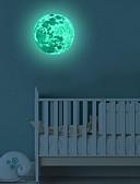 billige Pikekjoler-dekorative veggklistremerker - lysende veggklistremerker 3d innendørs