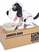 Χαμηλού Κόστους Δέρμα-Κουμπαράς σκύλος Κουμπαράς Munching Toy Πρωτότυπες Σκύλοι ABS 1 pcs Παιδικά Ενηλίκων Αγορίστικα Κοριτσίστικα Παιχνίδια Δώρο