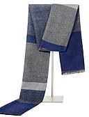 ราคาถูก ผ้าพันคอสุภาพบุรุษ-สำหรับผู้ชาย ลายพิมพ์ พื้นฐาน - ผ้าพันคอสี่เหลี่ยมผืนผ้า