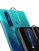 ราคาถูก ป้องกันหน้าจอโทรศัพท์มือถือ-2 in 1 กล้องเลนส์แหวนป้องกันฟิล์มกระจกนิรภัยสำหรับ huawei p30 / p30 pro
