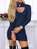 povoljno Ženske haljine-Žene Korice Haljina Jednobojni Mini