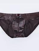 ราคาถูก ชุดลำลองชาย-สำหรับผู้ชาย พื้นฐาน กางเกงใน ไนลอน เอวต่ำ