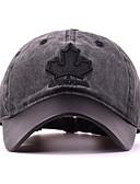 Χαμηλού Κόστους Men's Hats-Ανδρικά Φλοράλ Βασικό Πολυεστέρας Τζόκεϊ Μαύρο Πράσινο Χακί Βαθυγάλαζο