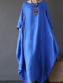 olcso Maxi ruhák-Női Swing Ruha Egyszínű Maxi