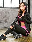 ราคาถูก กางเกงผู้หญิง-สำหรับผู้หญิง With Inner Shorts ชุดโยคะ สูงกว่าปกติ Zumba วิ่ง การออกกำลังกาย กีฬา ระบายอากาศ Fast Dry Tummy Control กางเกงขาสั้น ชุดชั้นใน Hoodie ชุดทำงาน ความยืดหยุ่นสูง