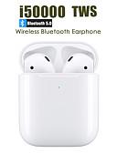 Χαμηλού Κόστους Περιπτώσεις AirPods-LITBest i50000 Αληθινά ασύρματα ακουστικά TWS Ασύρματη EARBUD Bluetooth 5.0 Στέρεο Με Μικρόφωνο Με Έλεγχος έντασης ήχου