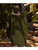 povoljno Haljine u plus veličini-Žene Swing kroj Haljina - Butterly Style Maxi