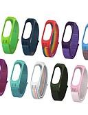 ราคาถูก วง Smartwatch-สายนาฬิกาสำหรับ mi band 3 / xiaomi mi band 4 xiaomi sport band สายรัดข้อมือไนล่อน