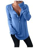 olcso Póló-Alap / Utcai sikk Női Póló - Egyszínű, Kollázs Fekete