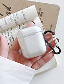 billige AirPods Cases-etui for eple scenekart luftputer 1 generasjon 2 generasjoner generell formål høy penetrasjon tpu materiale myk etui hodetelefonveske mm