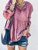 cheap Women's Blouses-Women's Daily Blouse - Graphic White
