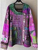 billige Bluser-T-skjorte Dame - Geometrisk Lilla