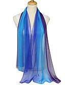 olcso Lány divat-Női Színes Party / Alap - Téglalap alakú sál