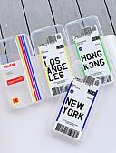 baratos Capinhas para iPhone-Capinha Para Apple iPhone 11 / iPhone 11 Pro / iPhone 11 Pro Max Antichoque Capa traseira Transparente / Desenho Animado TPU