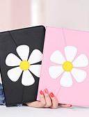 olcso iPad tok-Case Kompatibilitás Apple iPad Air / iPad Mini 3/2/1 / iPad Mini 4 Ütésálló / Porálló / Ultra-vékeny Héjtok Virág PU bőr / TPU