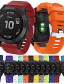 billiga Herrblazers och kostymer-smartwatchband för garmin fenix 6x / 6x pro sportband mjuk bekväm silikon quickfit handledsrem