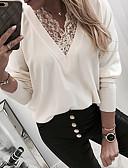 olcso Póló-Női Póló - Egyszínű Fehér