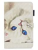 ราคาถูก เคสซัมซุง-Case สำหรับ Samsung Galaxy Tab A2 10.5(2018) / Samsung Tab A 10.1 (2019) T510 Wallet / with Stand / Flip ตัวกระเป๋าเต็ม Cat หนัง PU