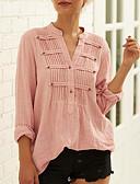 billige T-skjorter til damer-Skjorte Dame - Ensfarget Hvit