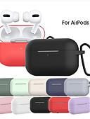 billige AirPods Cases-silikonetui til airpods pro fall anti-fall vanntett beskyttelsesetui for airpods pro øretelefonboks for luftputer med nøkkelring