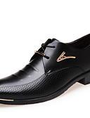 olcso Férfi zakók és öltönyök-Férfi Kényelmes cipők Mikroszálas Tél Félcipők Bokacsizmák Fekete / Barna