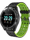 baratos Smart watch-novo multi p6 bluetooth sports smart watch / monitoramento da saúde da freqüência cardíaca e pressão arterial / contagem de passos / vários modos esportivos / ip67 life waterproof
